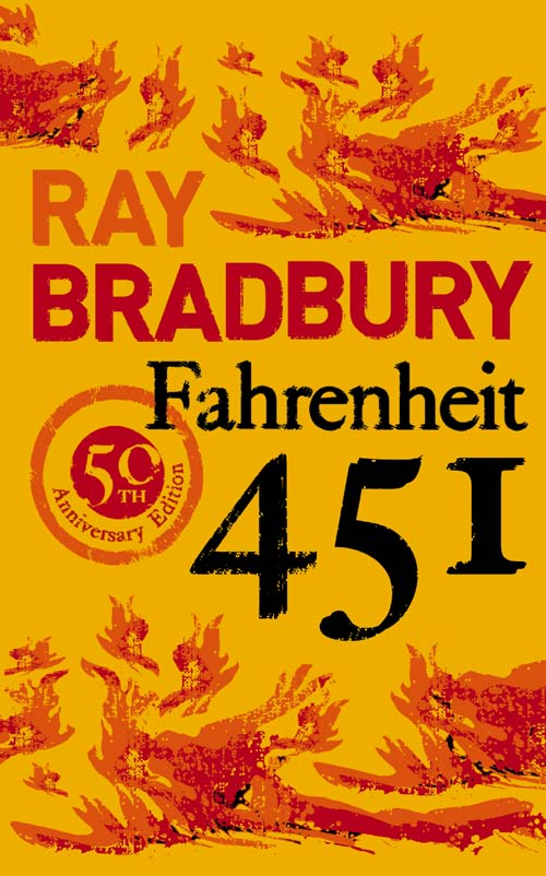 Fahrenheit 451 is not the temperature at which books burn; but still…