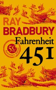 Book cover of Fahrenheit 451 by Ray Bradbury
